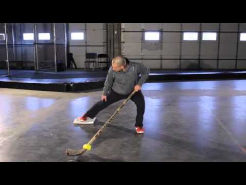 IMPROVE YOUR SKATING - Off-Ice Drill for Hockey Training
