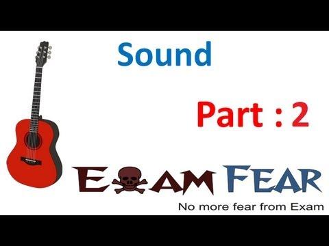 Physics Sound part 2 (Longitudinal nature of sound) CBSE class 9 IX