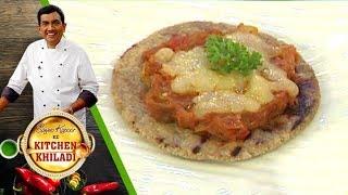 Sanjeev Kapoor Ke Kitchen Khiladi - Ep 12 - Cheese Ringan Olo (Baingan Ka Bharta)