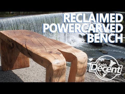 TWIN WATERFALL BENCH - a Decent project