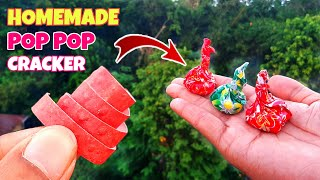 POP POP Cracker From Roll Caps - How To Make || Diwali Special Crackers 2020