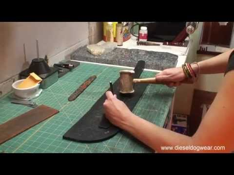 How To Make A Leather Dog Collar