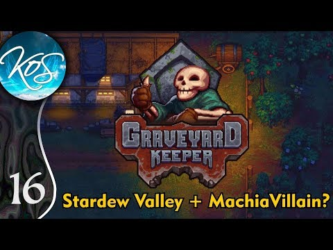 Graveyard Keeper Ep 16: GRAVESTONE BONANZA - (Alpha) First Look - Let's Play, Gameplay