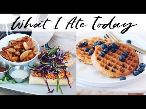 What I Ate Today (Vegan + Intuitive Eating)