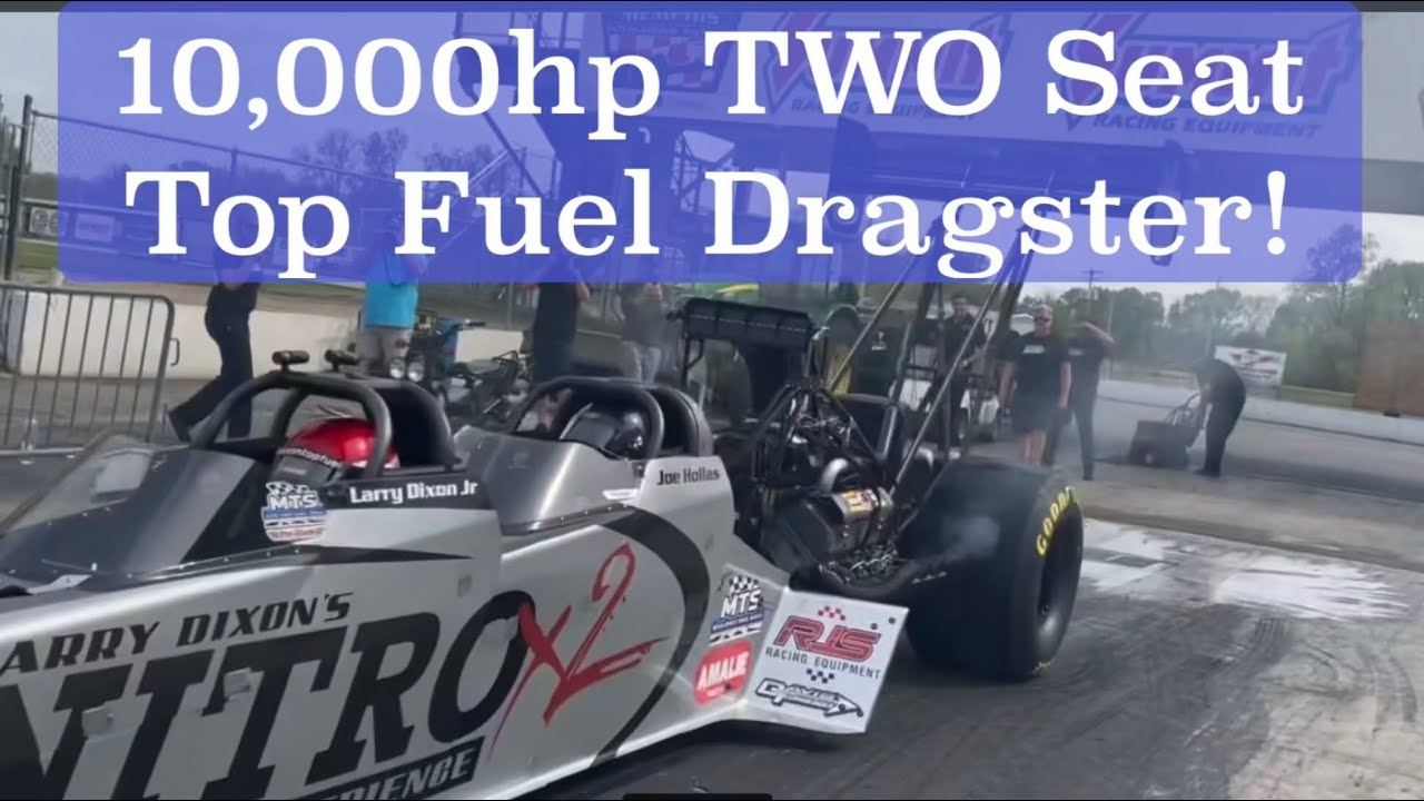 TAKE A RIDE IN A 10,000hp DRAGSTER!