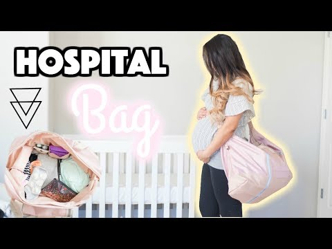 WHAT'S IN MY HOSPITAL BAG | Mommy, Daddy & Baby + Diaper Bag