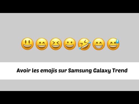 EMOJIS POUR SAMSUNG GALAXY TREND ★trouvé★