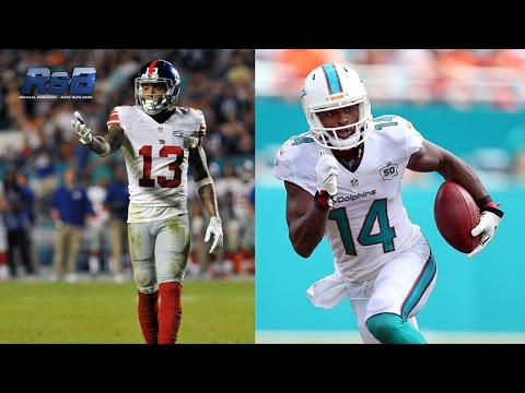 Who's better: Jarvis Landry or Odell Beckham? | Jarvis Landry Interview | The R&B Podcast | NFL