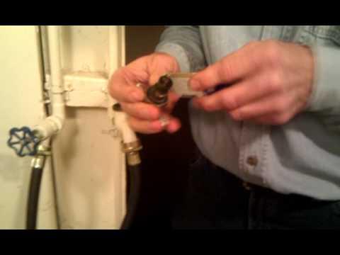 Repairing a faucet #2