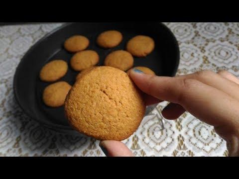 Eggless Crispy chewy Semolina Whole Wheat cookies/ कुरकुरे सूजी आटा  कुकीज