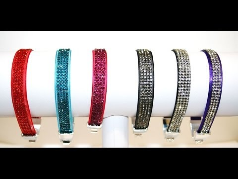 Learn how to make a Crystal diamante bracelet