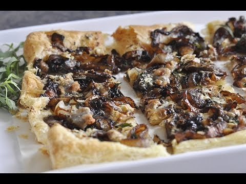 Caramelized Onion Tart | EASY TO LEARN | QUICK RECIPES