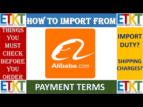 How To Import Products From China Through Alibaba