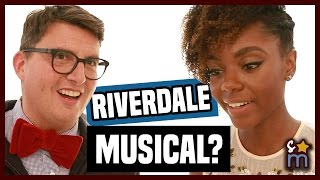 Is a RIVERDALE Musical Episode in the Future? - RIVERDALE Paley Live Cast Interview | Shine On Media