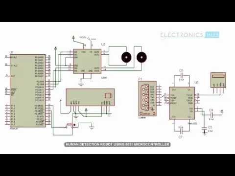 Human Detection Robot using 8051 Microcontroller