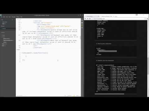 jQuery Tutorial for Beginners #25 - Using Plugins