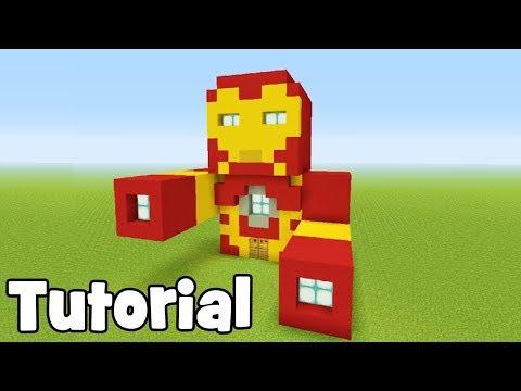 Minecraft Tutorial: How To Make Iron Man In Minecraft