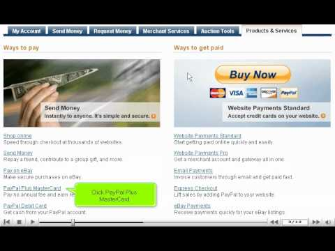 How to apply for a PayPal credit card - PayPal tutorial
