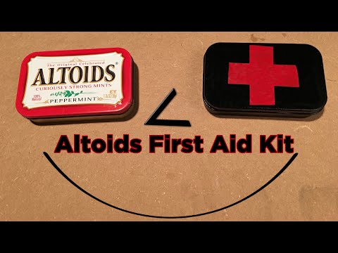 Ben Builds: Save a Life with a DIY Altoids First Aid Kit