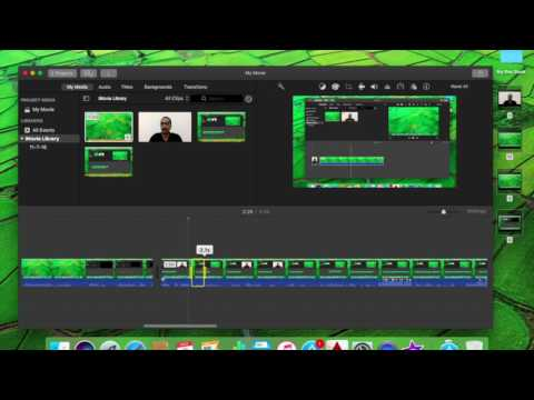 How to cut video in iMovie in Mac
