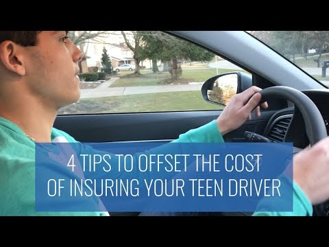 4 Tips To Offset The Cost Of Insuring Your Teen Driver