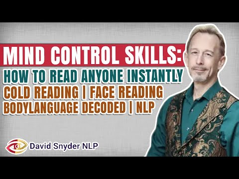 Mind Control Skills: How To Read Anyone   Cold Reading   Face Reading   Body Language Decoded
