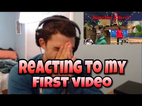 REACTING TO MY FIRST EVER VIDEO 😳🤦🏽♂️