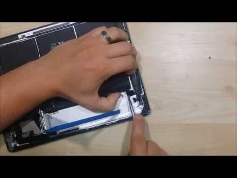 iPad 4 Screen/Glass/Display/Battery Replacment - Battery replacement