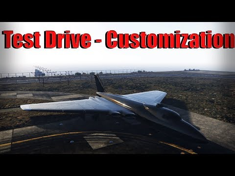 Gta 5 Online | Volatol - Test Flight And Customization - Doomsday Heist Dlc