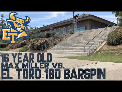 16 YEAR OLD vs EL TORO 180 BARSPIN
