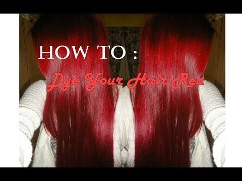 How to Dye Your Hair Red at Home