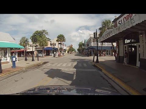 Key West, Florida - Drive Along Duval Street HD (2016)