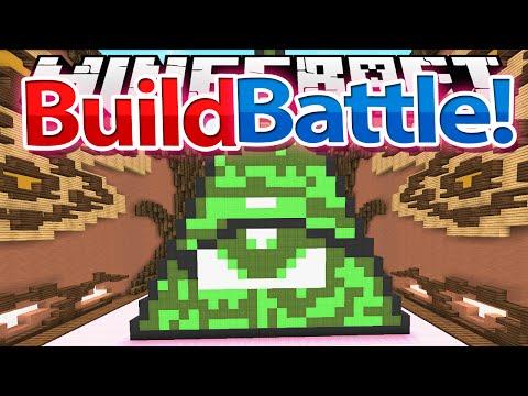 Minecraft: BUILD BATTLE - ILLUMINATI w/ xSlayder + iRaphahell !