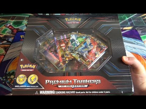 Pokemon TCG XY Premium Collection Opening - Expensive Box Full of Full Art Cards!
