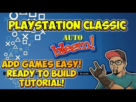 Add Games Easy! PlayStation Classic AutoBleem Ready To Build