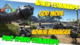 Ark Survival Evolved - How To Spawn Dinos!!! | Daikhlo