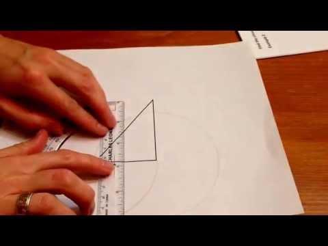 Find the circumcenter of a triangle.
