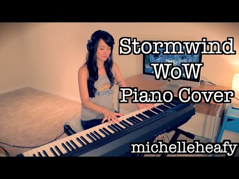 Stormwind Theme Piano (World of Warcraft) Cover | Michelle Heafy