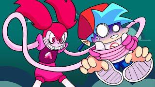 BOYFRIEND vs. SPINEL! Friday Night Funkin' Logic   Cartoon Animation