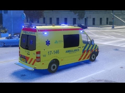 Prio 1 rit Ambulance (GTA 4)