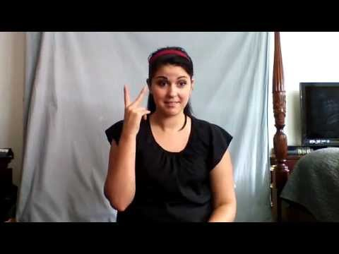 Learn ASL in 31 Days: Day 4 :: Places