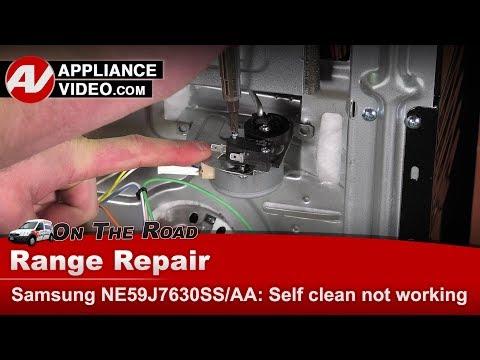 Samsung  - Oven / Range - Self clean is not working - Diagnostic & Repair