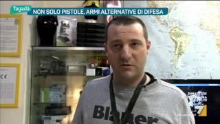 Non solo pistole, armi alternative di difesa