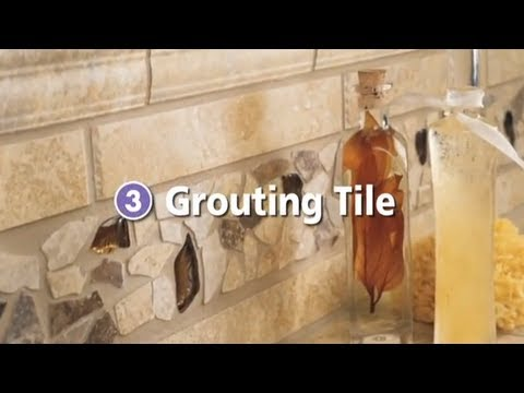 How to Grout Your Tile or Stone