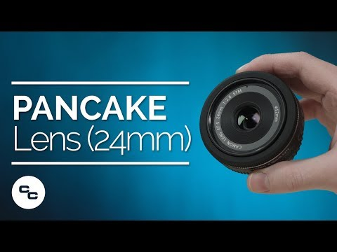 Canon 24mm Pancake Lens Unboxing and Test - Krazy Ken's Tech Misadventures