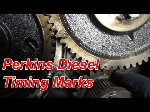 Perkins Diesel Engine Timing Marks in Full HD