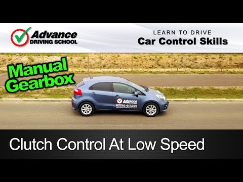 Clutch Control At Low Speed  |  Learning to drive: Car control skills