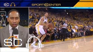 Stephen A. praises Klay Thompson after Game 6: