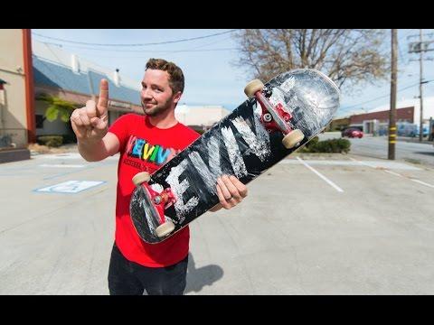 Skateboard Trick ANYONE CAN LEARN! / The Dark Jump
