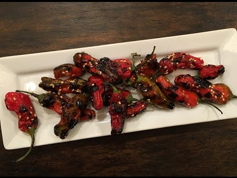 Shishito Peppers Appetizer